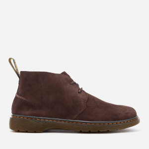 Dr. Martens Men's Ember Bronx Suede Lace Low Boots - Dark Brown