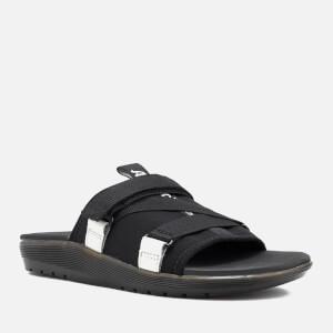 Dr. Martens Nerida Neoprene Webbing Slide Sandals - Black: Image 4