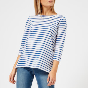 Joules Women's Soleil Stripe Layering Top - Navy Stripe