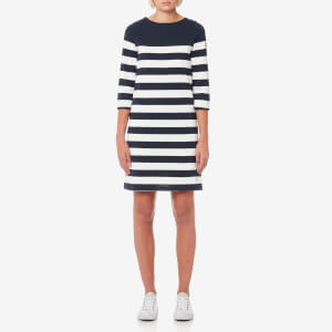 Joules Women's Mari Jersey Stripe Dress - French Navy