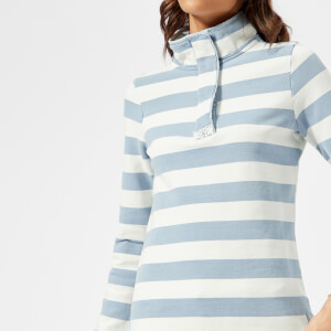 Joules Women's Saunton Salt Funnel Neck Sweatshirt - Saltwash