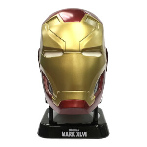 Marvel Iron Man Mark 46 Helmet Mini Bluetooth Speaker