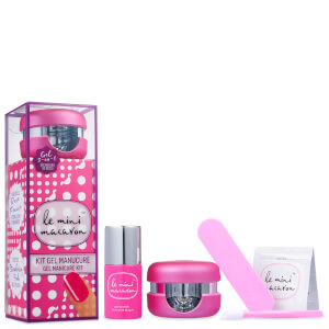 Le Mini Macaron Gel Manicure Kit - Strawberry Pink