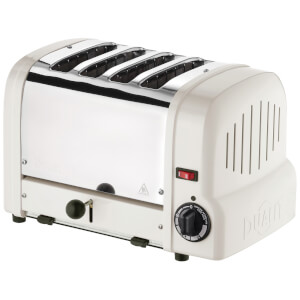Dualit 47361 Classic Origins 4 Slot Toaster - Canvas White