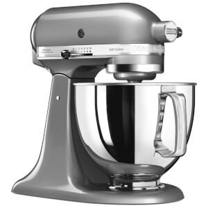 KitchenAid 5KSM125BCU Artisan 4.8L Tilt-Head Stand Mixer - Contour Silver