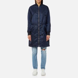 KENZO Women's Nylon Outerwear Jacket - Navy
