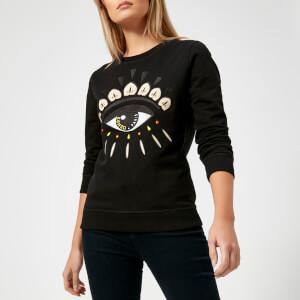 KENZO Women's Classic Eye Sweatshirt - Black