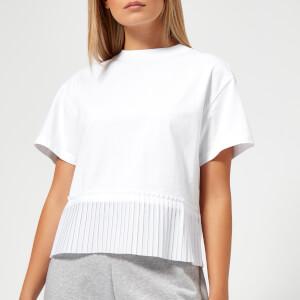 KENZO Women's Cotton Skate Jersey Frill T-Shirt - White