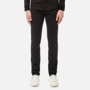 Versace Collection Men's Slim 5 Pocket Jeans - Nero