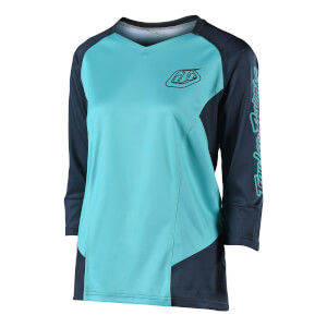 Troy Lee Designs Women's Ruckus Jersey - Aqua
