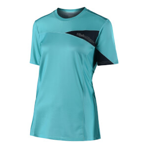 Troy Lee Designs Women's Skyline Short Sleeve Jersey - Aqua