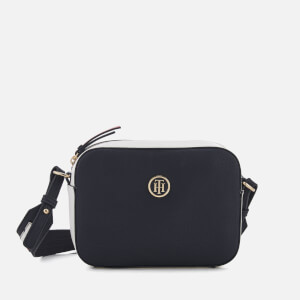 Tommy Hilfiger Women's The Signature Strap Camera Bag - Navy