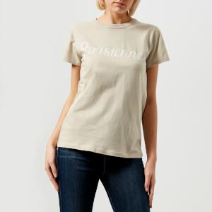 Maison Kitsuné Women's Parisienne T-Shirt - Grey