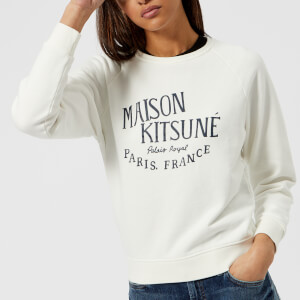 Maison Kitsuné Women's Palais Royal Sweatshirt - Latte