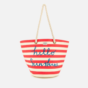 Joules Women's Summer Beach Bag - Red Sky Sunshine