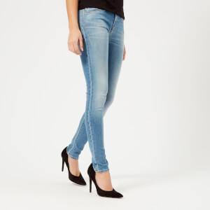 Emporio Armani Women's Skinny Jeans - Blue
