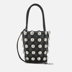 Alexander Wang Women's Roxy Mini Bucket Dome Stud Bag - Black