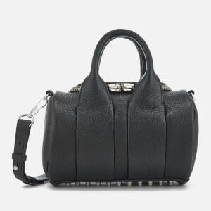 Alexander Wang Women's Mini Rockie Studded Pebble Leather Bag - Black