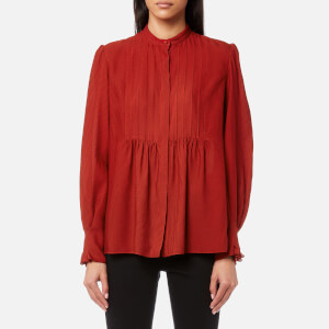 A.P.C. Women's Carousel Shirt - Brique