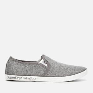 Superdry Men's Diver Slip-On Trainers - Dark Grey Marl