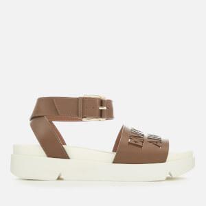 Emporio Armani Women's Pinky Sandals - Cuoio