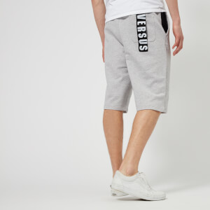 Versus Versace Men's Pocket Logo Sweat Shorts - Grey/Black