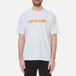 Versus Versace Men's Neon Logo T-Shirt - White/Stampa