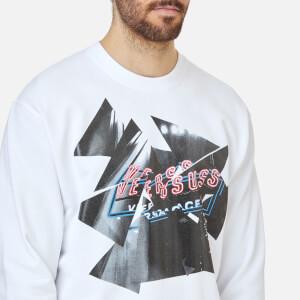 Versus Versace Men's Printed Sweatshirt - White/Stampa: Image 4