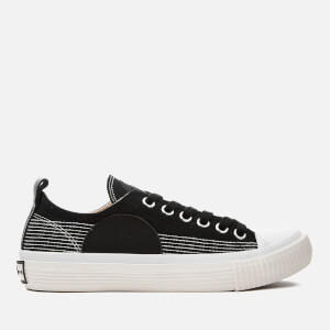 McQ Alexander McQueen Women's Canvas Low-Top Trainers - Black