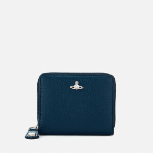 Vivienne Westwood Men's Milano Small Zip Wallet - Blue
