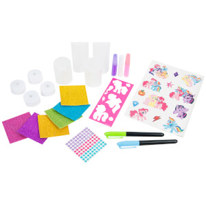 My Little Pony Decorate Your Own Magical Candle Lights Craft Set