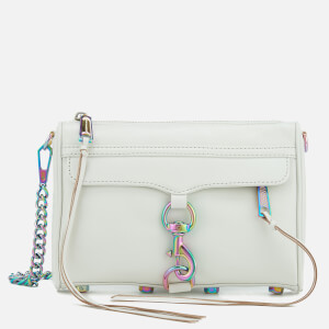 Rebecca Minkoff Women's Mini Mac Cross Body Bag - Bianco