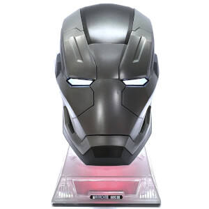 Marvel Iron Man War Machine Mark 3 Helmet Life-Size Bluetooth Speaker
