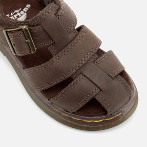 Dr. Martens Toddlers' Moby Wyoming Sandals - Dark Brown: Image 7