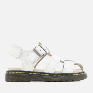 Dr. Martens Toddlers' Moby Lamper Sandals - White