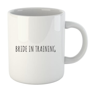 "Taza ""Bride In Training"" - Blanco"
