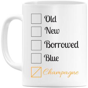Champagne Tick Box Mug