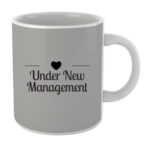 "Taza ""Under New Management"" - Negro"