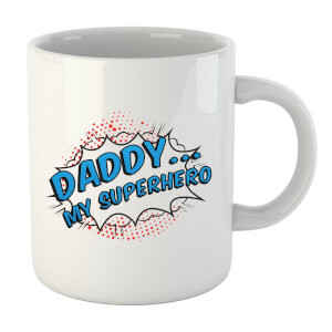 Daddy My Superhero Mug