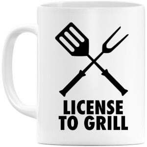 License to Grill Mug