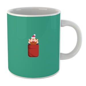 Christmas Elf Pocket Mug
