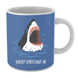 Sharks Nobody Understands Me Mug