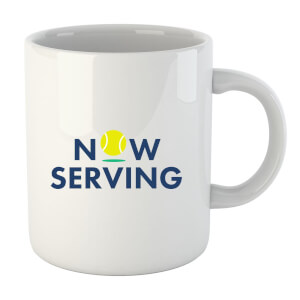 "Taza ""Now Serving"""