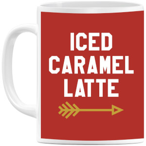 Iced Caramel Latte Mug