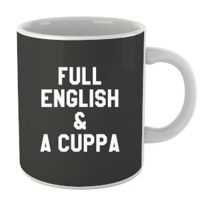 "Taza ""Full English & A Cuppa"""
