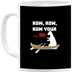 Row Row Row Your Boat (white) Mug