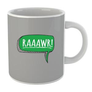 """Taza """"RAAAWR!"""" - Gris"""