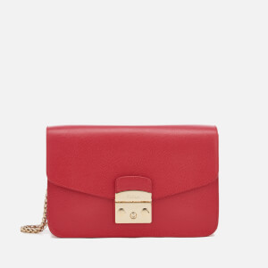 Furla Women's Metropolis Shoulder Bag - Ruby