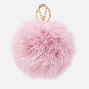 Furla Women's Bubble Pom Pom Keyring - Glicine