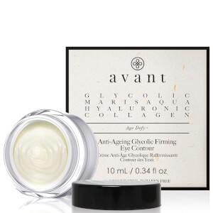 Crema de contorno de ojos antiedad y firmeza con ácido glicólico de Avant Skincare 10 ml